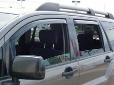 In-Channel Wind Deflectors for 2004 - 2010 Mitsubishi Endeavor