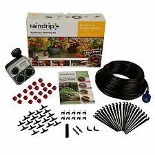 Kits Lawn Automatic Sprinkler Timer Drip Irrigation System Watering In Ground
