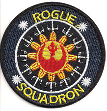 "Star Wars Rogue Squadron Logo 3.5"" Uniform Patch-FREE S&H (SWPA-CD-12)"