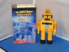 Comet Toys Papa San Planetary Explorer Enforcer Robot Tin Toy Toys NMIB! Rare!