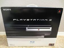 BRAND NEW Sony PlayStation 3 60gb Backwards Compatible Console PS3 System SEALED