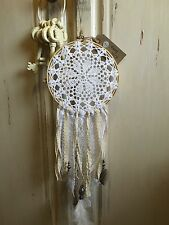Handmade Vintage Country Shabby Chic Crochet Doily Boho Lace Dreamcatcher