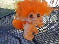 """DAM Tailed Troll 6 1/2"""" Vintage 1960s (ALL ORIGINAL CONDITION, nothing restored)"""