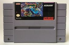 SNES Teenage Mutant Ninja Turtles 4 TMNT IV: Turtles in Time Cart *Authentic*