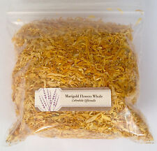 1 oz. Marigold Flowers Whole (Calendula Officinalis)  28 g /.063 lb  Dried
