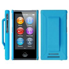 Apple iPod Nano 7th/8th Gen Slim Shell Belt Clip Screen Protector Rubber NonSlip
