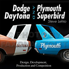 1969-1970 Dodge Daytona Plymouth Superbird History NASCAR Stock Racing 426 Hemi