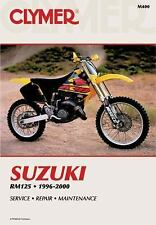 1996 1997 1998 1999 2000 Suzuki RM125 Clymer Repair Service Workshop Manual M400