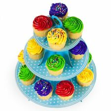 3 Tier 24 Cupcake Dessert Tower Stand Display Birthday Wedding Party Baby Shower