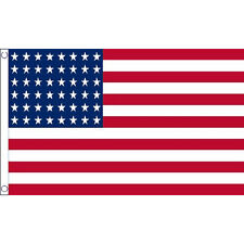 Usa 1912 - 1959 (48 Stars) Flag 5Ft X 3Ft America United States Usa Banner New