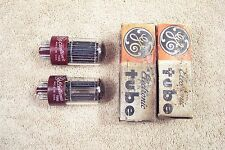 Two, NEW in box, GE/RCA 5692, matching date pair, high reliability 6SN7GT, 5692