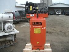 CURTIS 80 GALLON AIR COMPRESSOR, MODEL 740VT8-A9, 80 GALLON