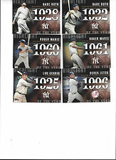 2015 TOPPS 1 HIGHLIGHT OF THE YEAR Roger Maris 1960 New York Yankees H-11