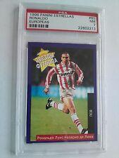 Ronaldo Panini Estrellas Europeas 1995-96 Rookie Card - PSA 7 ( RARE Russian Ed)