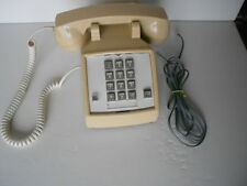 Vintage 1995  ITT  Beige  Desk/Table Push-Button Corded Telephone VGC