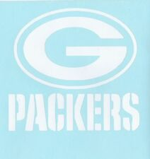 GREEN BAY PACKERS  handmade vinyl window decal