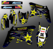 2007 2008 2009 RMZ 250 GRAPHICS KIT SUZUKI RMZ250 DECO DECALS STICKERS MOTO