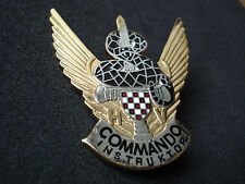 Croatia army, Sepurine Special forces, Commando Instructor badge; military