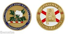 """ARMY NATIONAL GUARD FORT MCCLELLAN ALABAMA TRAINING CENTER 1.75"""" CHALLENGE COIN"""