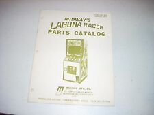 MIDWAY LAGUNA RACER Manual & Parts Catalog 24 pgs Excellent 1977 Video