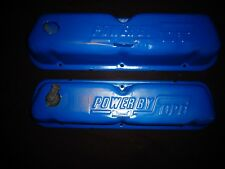Power By Ford Small-Block Valve Covers; 221-260-289-302-351W Mustang Torino etc.