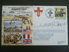 World War 2 50th Anniversary fdc1992 Operation Torch Landing in North Africa
