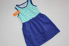 Gymboree Desert Dreams Girls Size 8 Sundress Dress Chevron Blue  NEW NWT