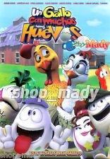 Huevos: Little Rooster's Egg-Cellent Adventure - Un Gallo con Muchos Huevos DVD