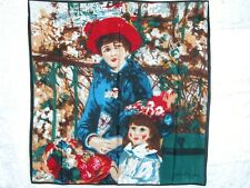 New Silk Scarf Pierre Renoir Auguste Repo Two Sisters