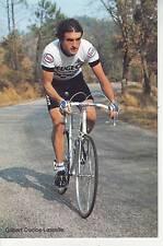 CYCLISME carte cycliste GILBERT DUCLOS LASSALLE équipe PEUGEOT  MICHELIN 1981