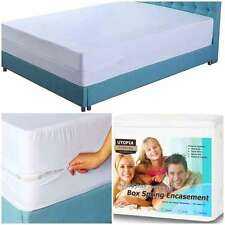 Matress Protection Box Spring Dust Mites Hypoallergenic Bed Bug Pad Cover Queen