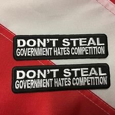Don't steal government hates competition patch survival tactical military #803