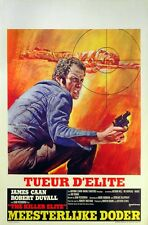 KILLER ELITE 1975 Sam Peckinpah James Caan, Robert Duvall BELGIAN POSTER