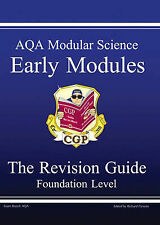 GCSE AQA Modular Science: Early Modules Revision Guide Foundation Level