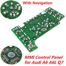 1x Multimedia MMI Control Panel Circuit Board with Navigation for AUDI A6 A6L Q7