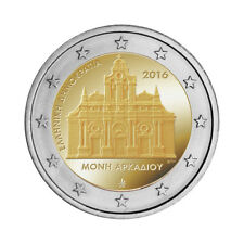 "Greece 2 Euro commemorative coin 2016 ""Arkadi Monastery"" UNC **NEW**"
