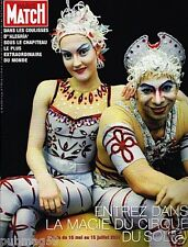 Coupure de Presse Clipping 2007 (14 pages) Le Cirque du Soleil