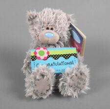 "ME TO YOU 6"" Gray Tatty Teddy Bear Congratulations Douglas Cuddle Toys"