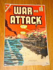 WAR AND ATTACK #61 FN (6.0) CHARLTON COMICS AUGUST 1967