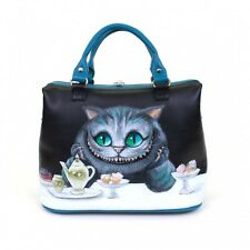 High quality handmade Cheshire Cat woman genuine leather bag