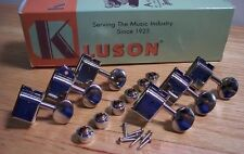 REAL GENUINE KLUSON DELUXE Tuners for FENDER STRAT TELE VINTAGE REISSUE STYLE