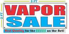 VAPOR SALE Banner Sign NEW Larger Size Best Quality for The $$$ SMOKE SHOP