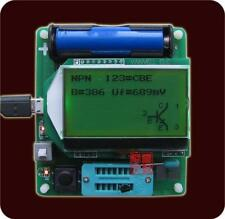 2015 newest BIG 12864 LCD inductor-capacitor ESR meter MG328 multifunction TEST