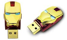 Mark IV - 16gb usb 2.0 Iron Man 3 Marvel BD Flash Drive Or/red Boite Cadeau
