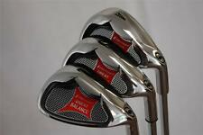 SENIOR WEDGE SET 52 AW 56 SW 60 LW GAP APPROACH SAND LOB WEDGES GOLF CLUBS IRONS