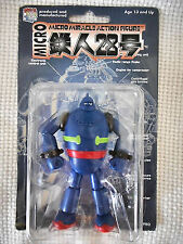 "MEDICOM TETSUJIN 28 MICRO MIRACLE ACTION FIGURE JAPAN 3"" GIGANTOR SHOWA ROBOT"