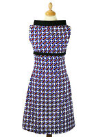 NEW RETRO SIXTIES INDIE GEOMETRIC 60s 70s MOD DRESS Vintage ACE DRESS MC191