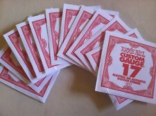 Ernie Ball Singles (17) 12 Pack G Strings - Slinky Custom Gauge Bulk Lot Guitar