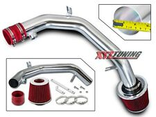 "2.5"" RED Cold Air Intake Kit System+Filter For 99-05 Golf GTi Jetta VR6 2.8L"