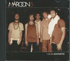 Music CD Maroon 5 1.22.03.Acoustic